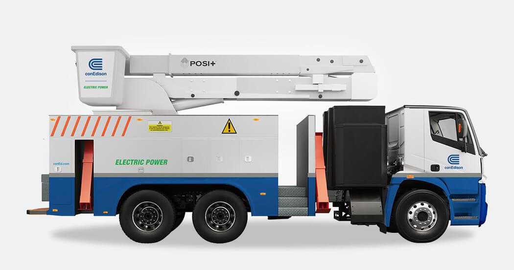 Con Edison, Lion Electric и Posi-Plus разрабатывают электрическую автовышку, способную выполнять весь спектр работ, необходимых коммунальным службам