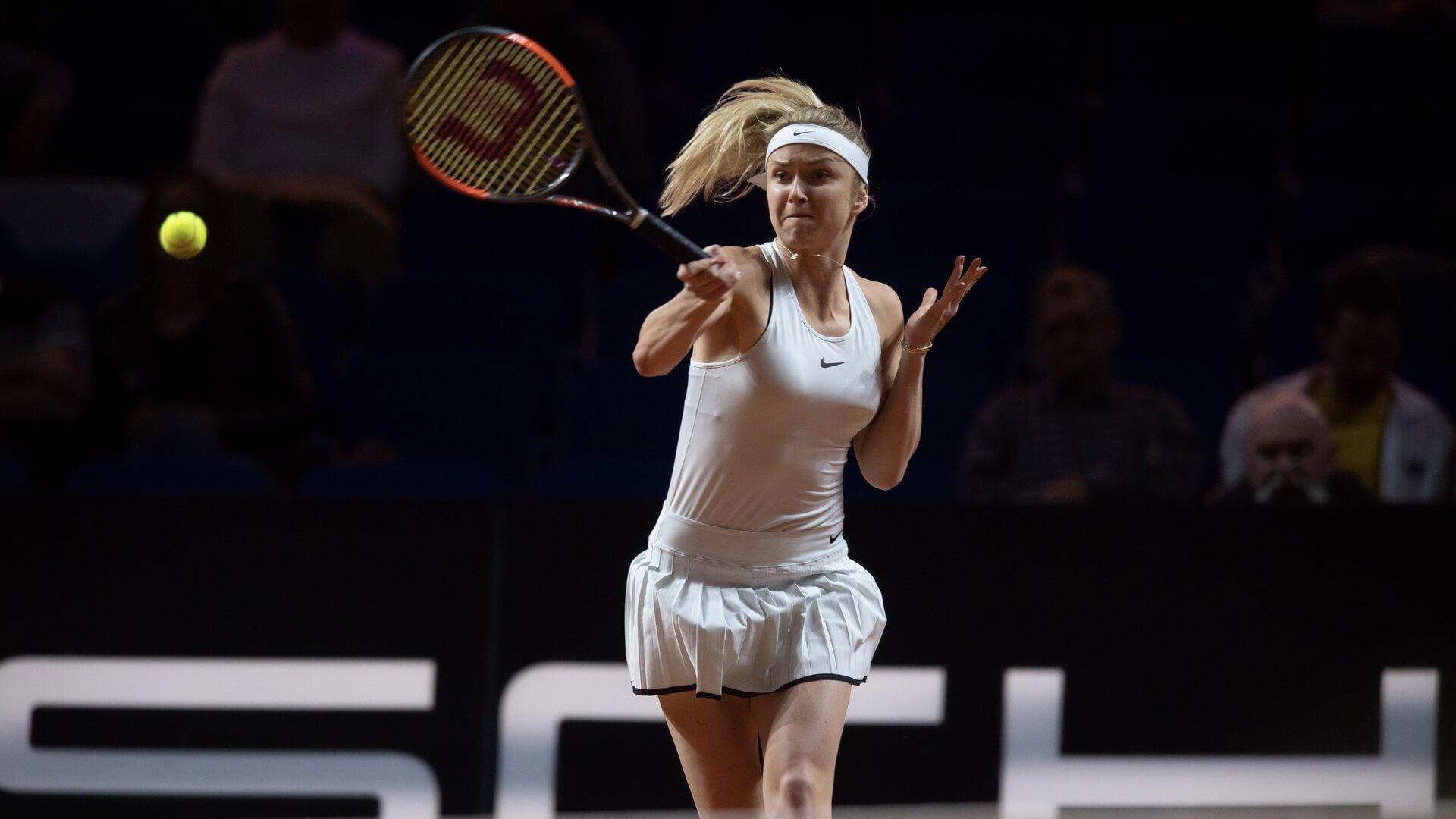 Элина Свитолина — украинская профессиональная теннисистка