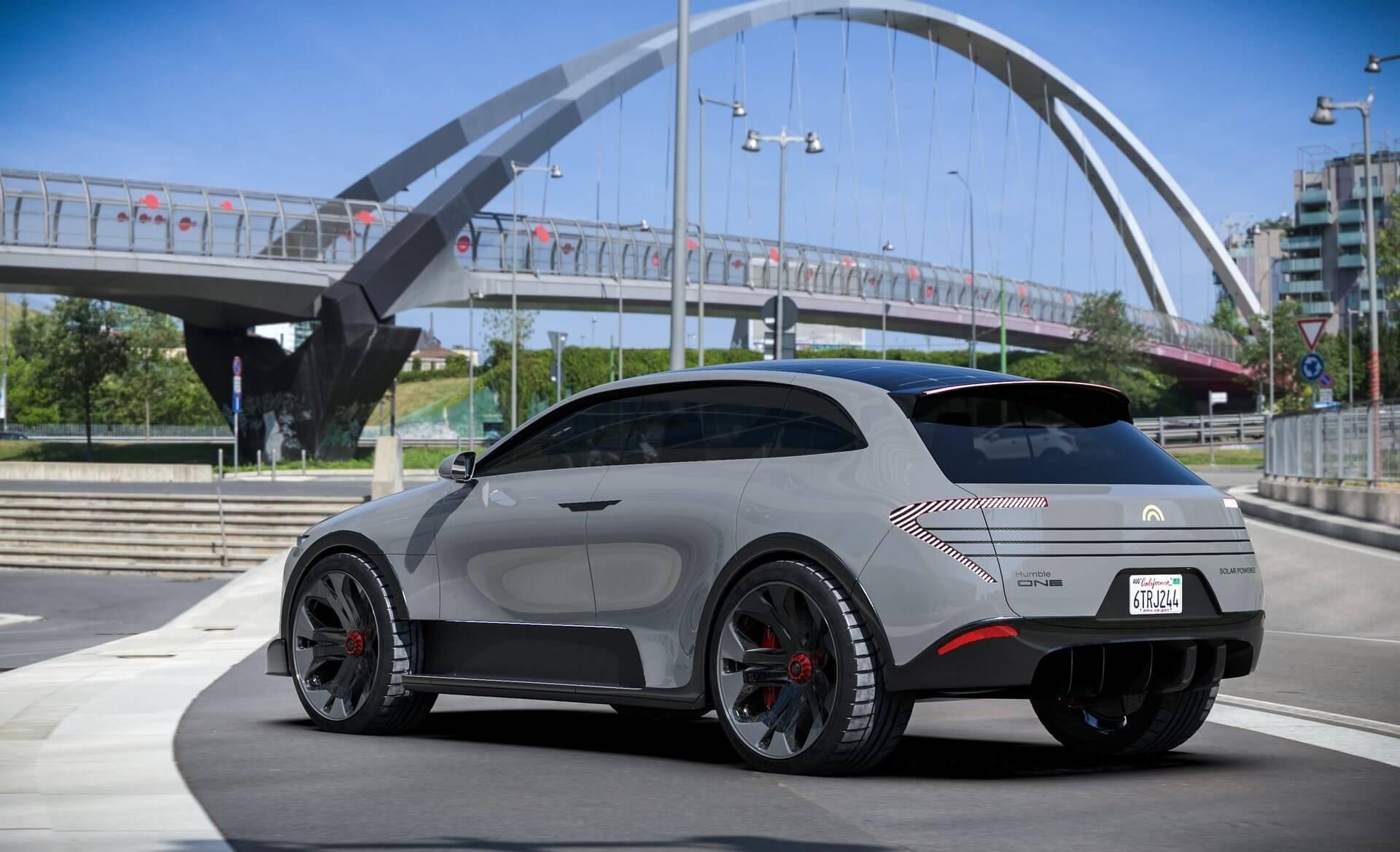 Humble Motors представила концепт электрического SUV с солнечной крышей