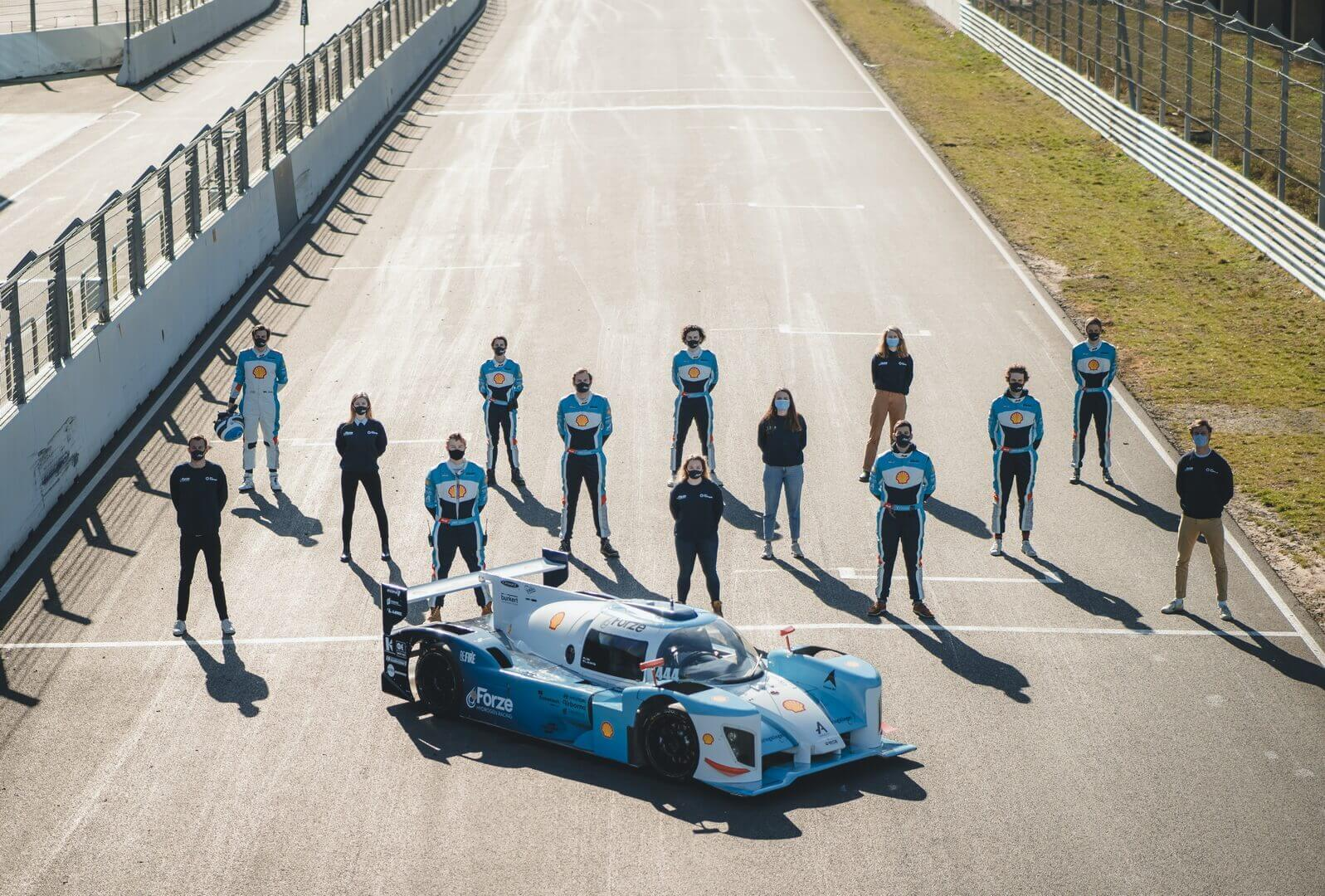 Студенты из Нидерландов разрабатывают суперкар на водороде