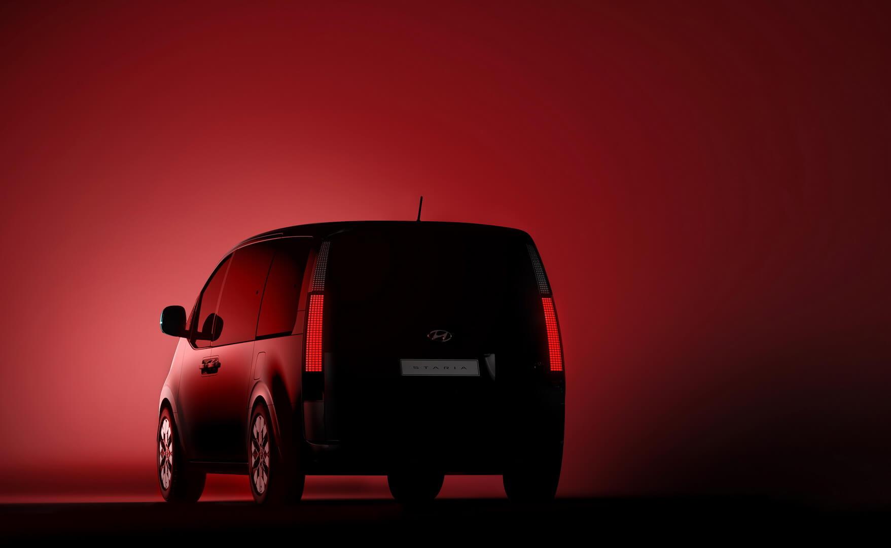 Hyundai STARIA с футуристическими элементами дизайна