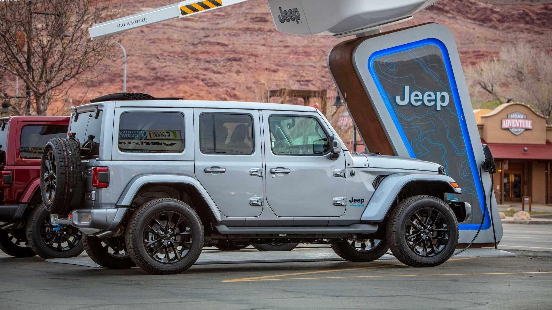 Electrify America создаст зарядную сеть Jeep 4xe на внедорожных трассах
