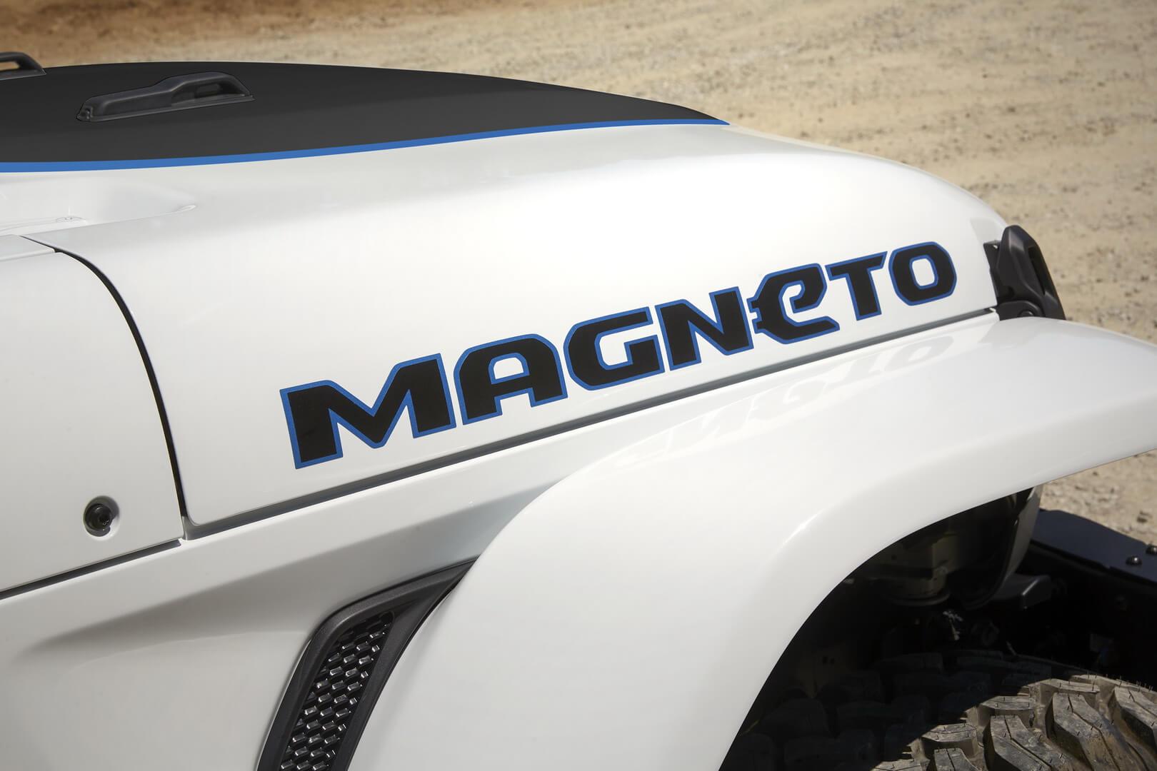 Jeep представил электрический внедорожник Wrangler Magneto для пасхального сафари