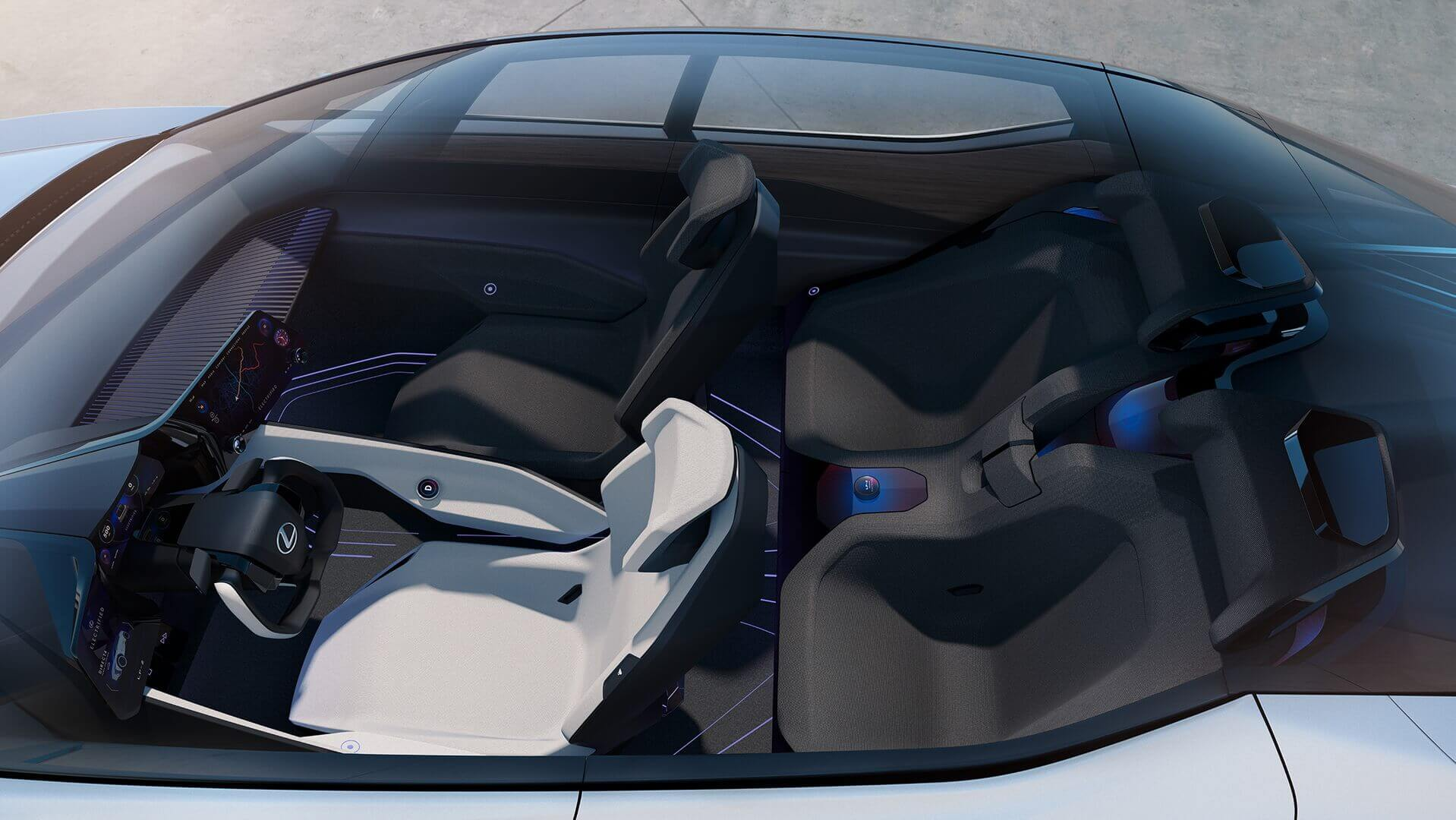 Салон Lexus LF-Z Electrified