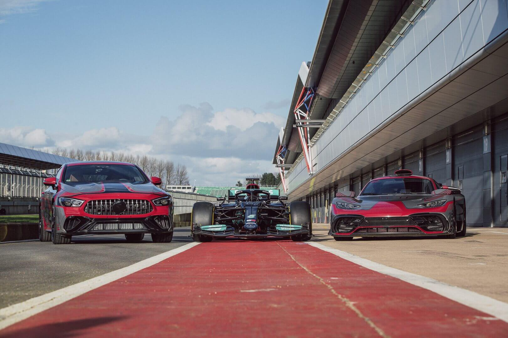В рамках Mercedes-AMG создан новый бренд электрифицированных автомобилей