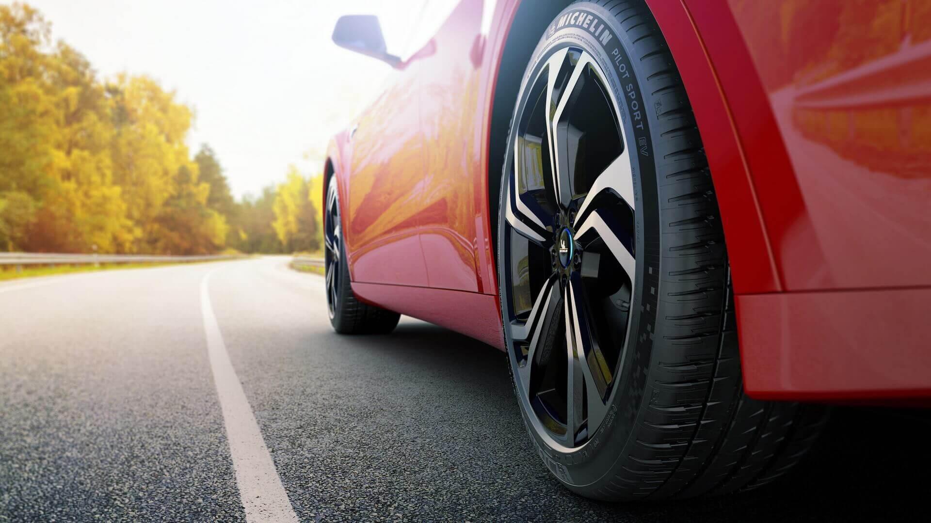 Michelin Pilot Sport EV - шина для электрических спортивных автомобилей
