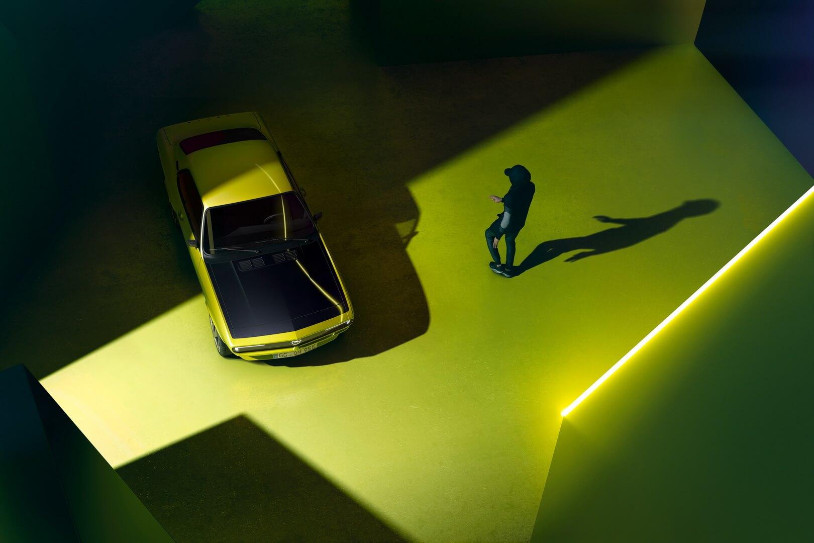 Ретро-купе Opel Manta получило электрическую реинкарнацию