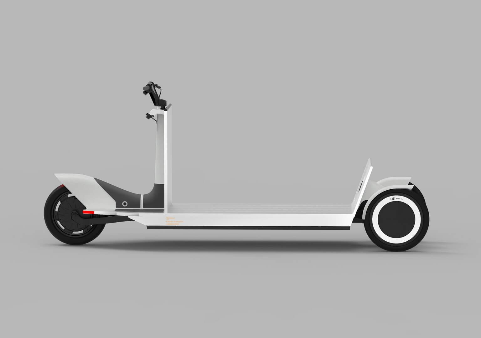 Концепт электрических грузовых «санок» от Polestar