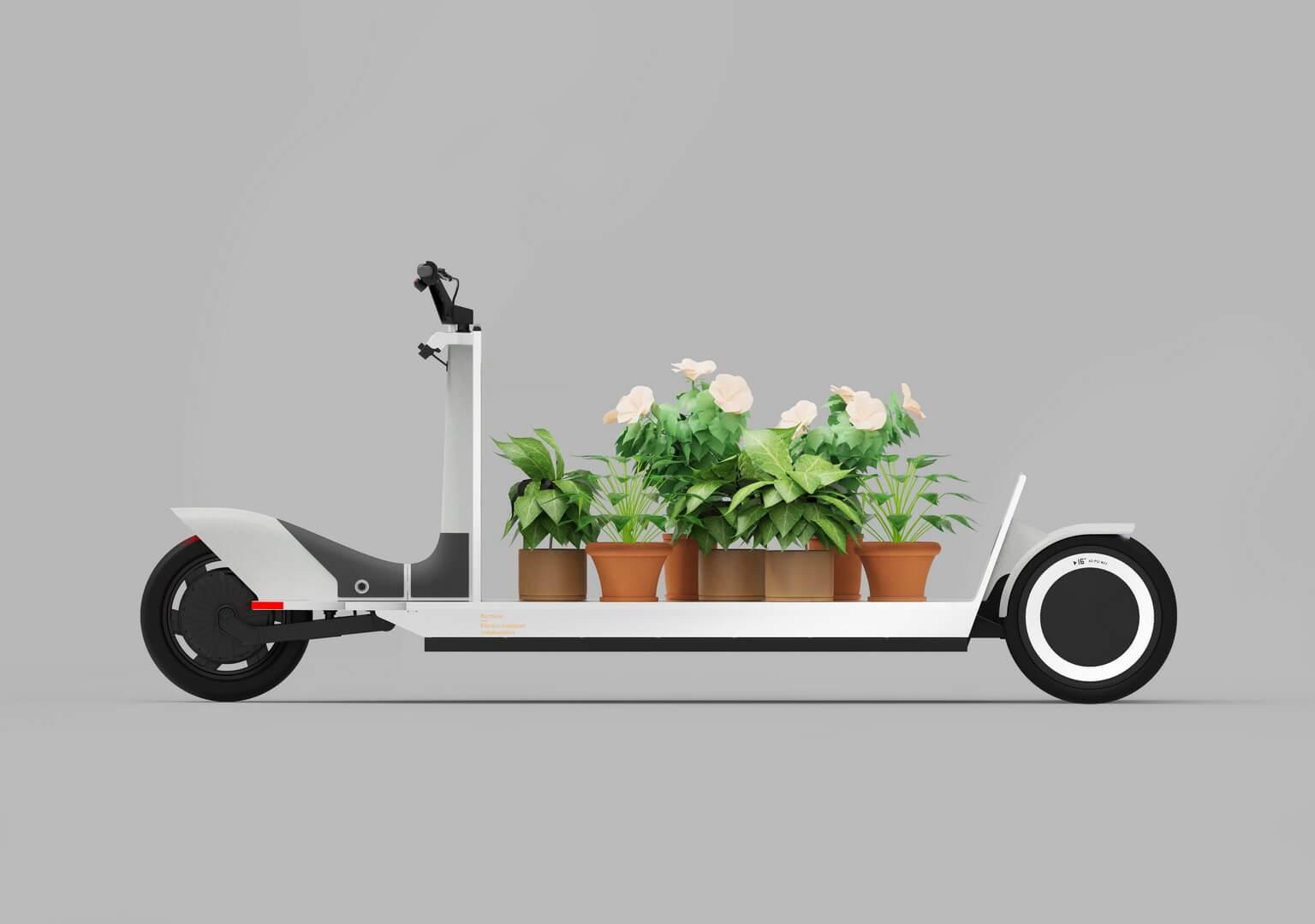 Polestar Re:Move — электрические трехколесные «сани» с грузоподъемностью 275 кг