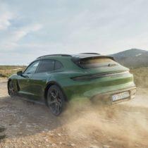 Фотография экоавто Porsche Taycan 4 Cross Turismo - фото 8