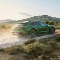 Фотография экоавто Porsche Taycan 4 Cross Turismo - фото 7