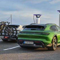 Фотография экоавто Porsche Taycan 4 Cross Turismo - фото 12