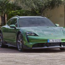 Фотография экоавто Porsche Taycan 4 Cross Turismo - фото 10