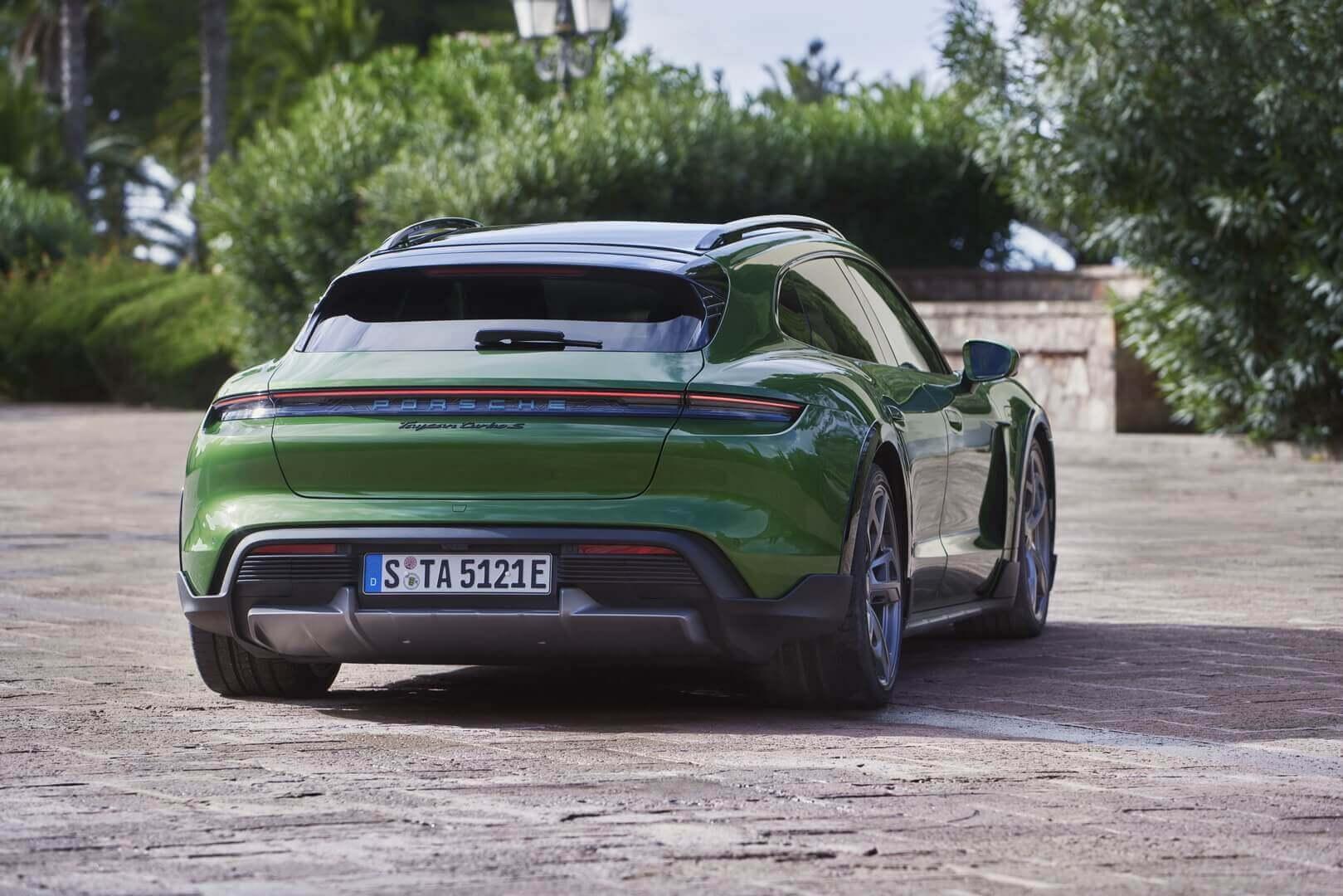 Экстерьер Porsche Taycan Turbo S Cross Turismo
