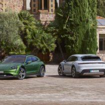 Фотография экоавто Porsche Taycan 4 Cross Turismo - фото 13