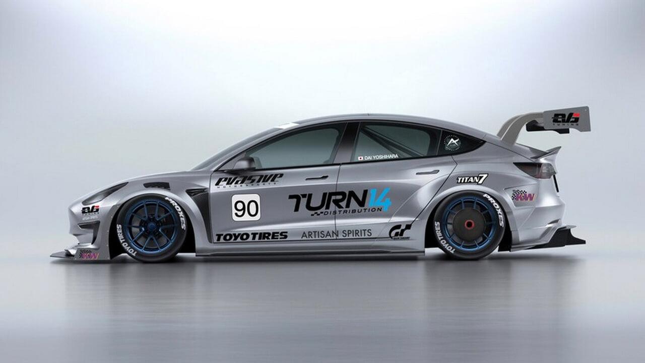 Tesla Model 3 преобразуют в спорткар для следующей гонки Pikes Peak в 2021 году