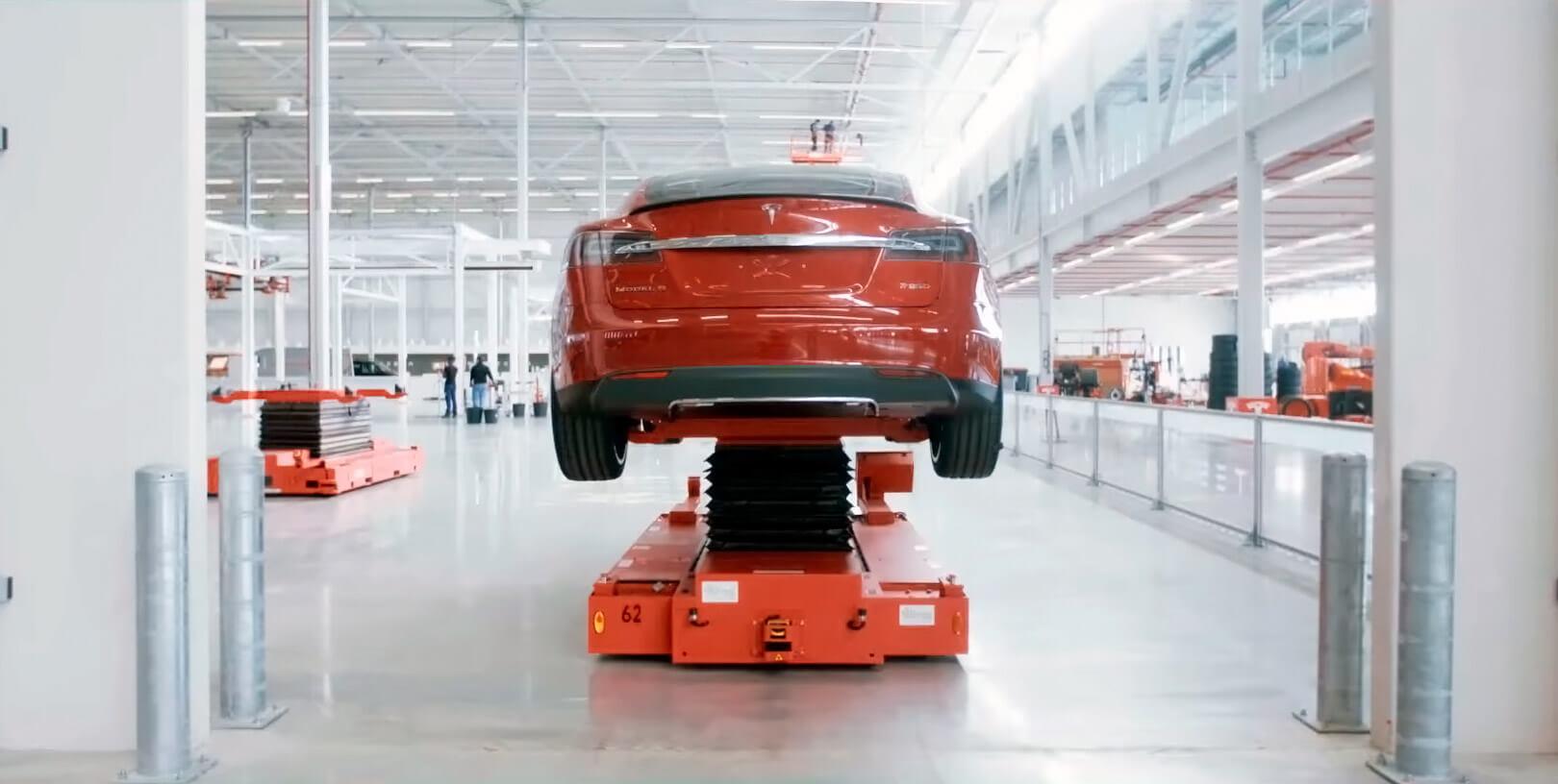 Tesla больше не будет собирать электромобили в Нидерландах