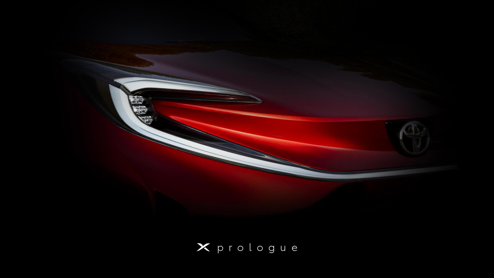 Новый тизер намекает на скорый дебют электрокроссовера Toyota