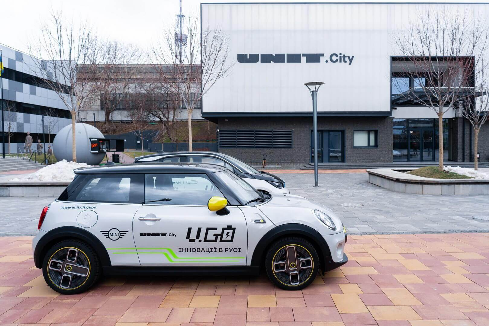 В Киеве запустили каршеринговый сервис электромобилей U.Go