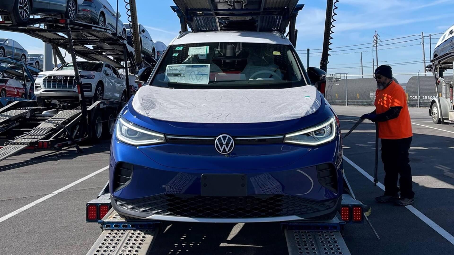 Первая партия Volkswagen ID.4 прибыла в США