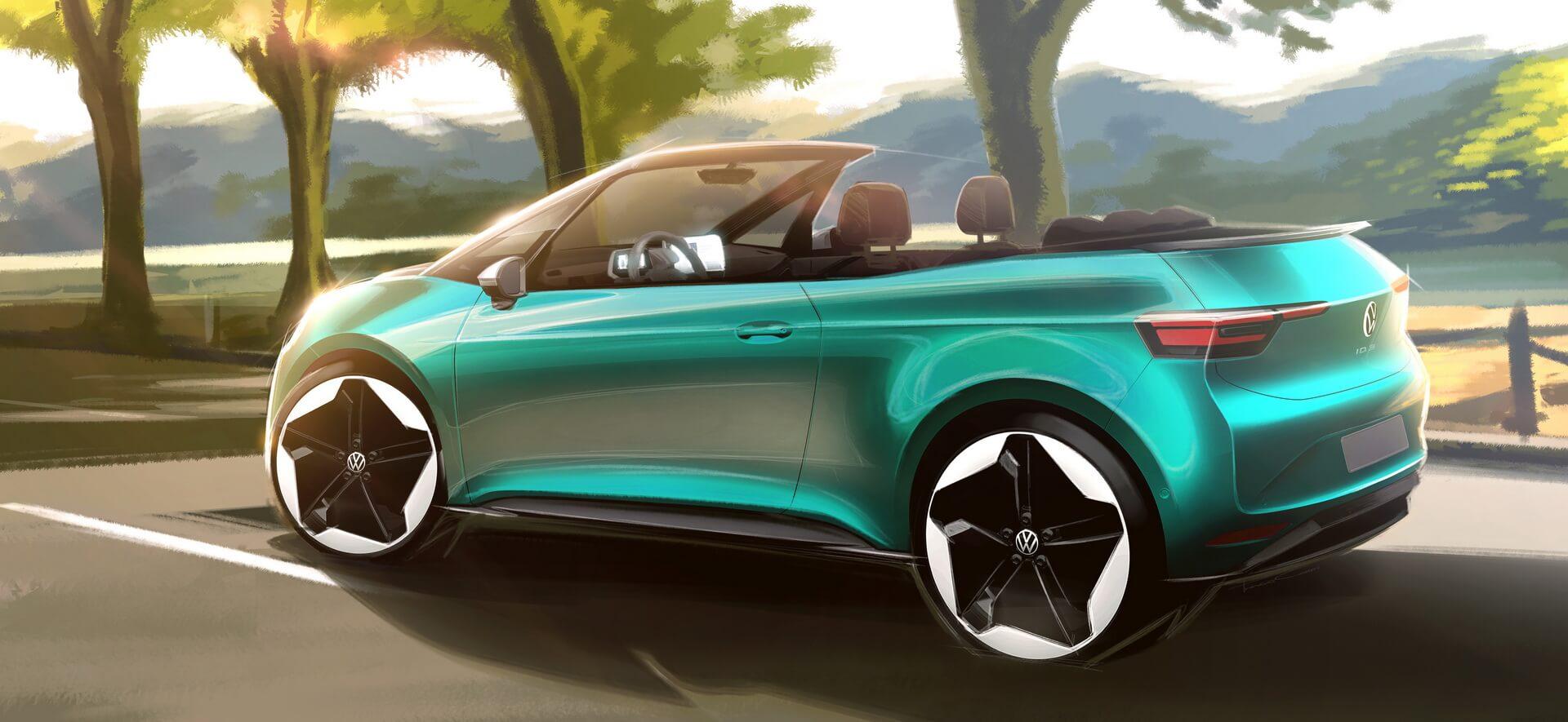Volkswagen может начать разработку кабриолета на базе ID.3