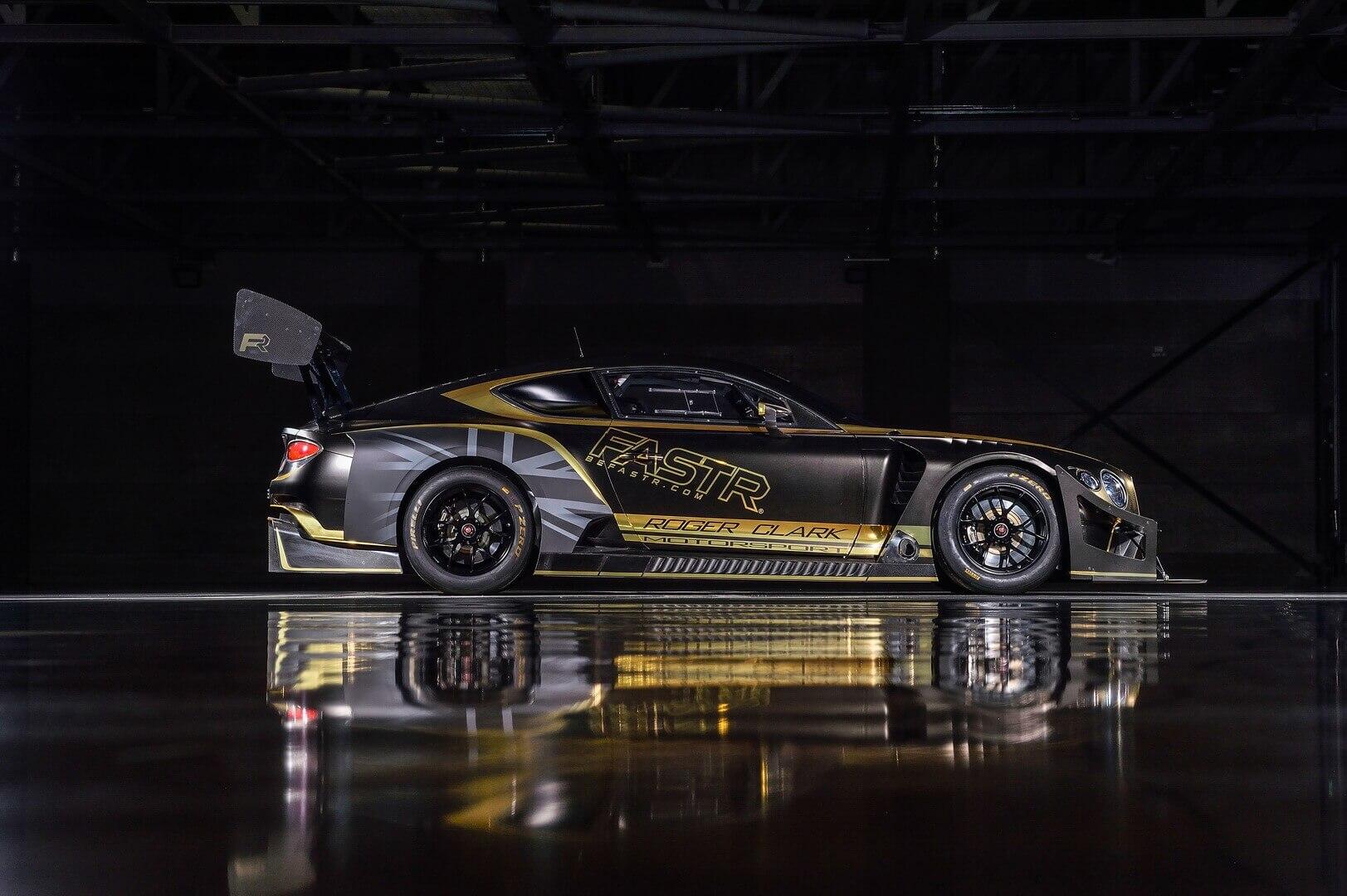 Bentley презентовала первую модель на биотопливе Continental GT3
