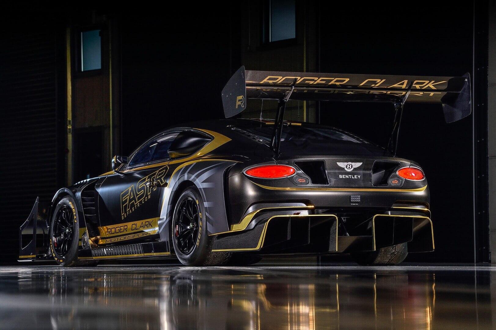 Bentley собирается покорить Пайкс-Пик с биотопливным купе Continental GT3