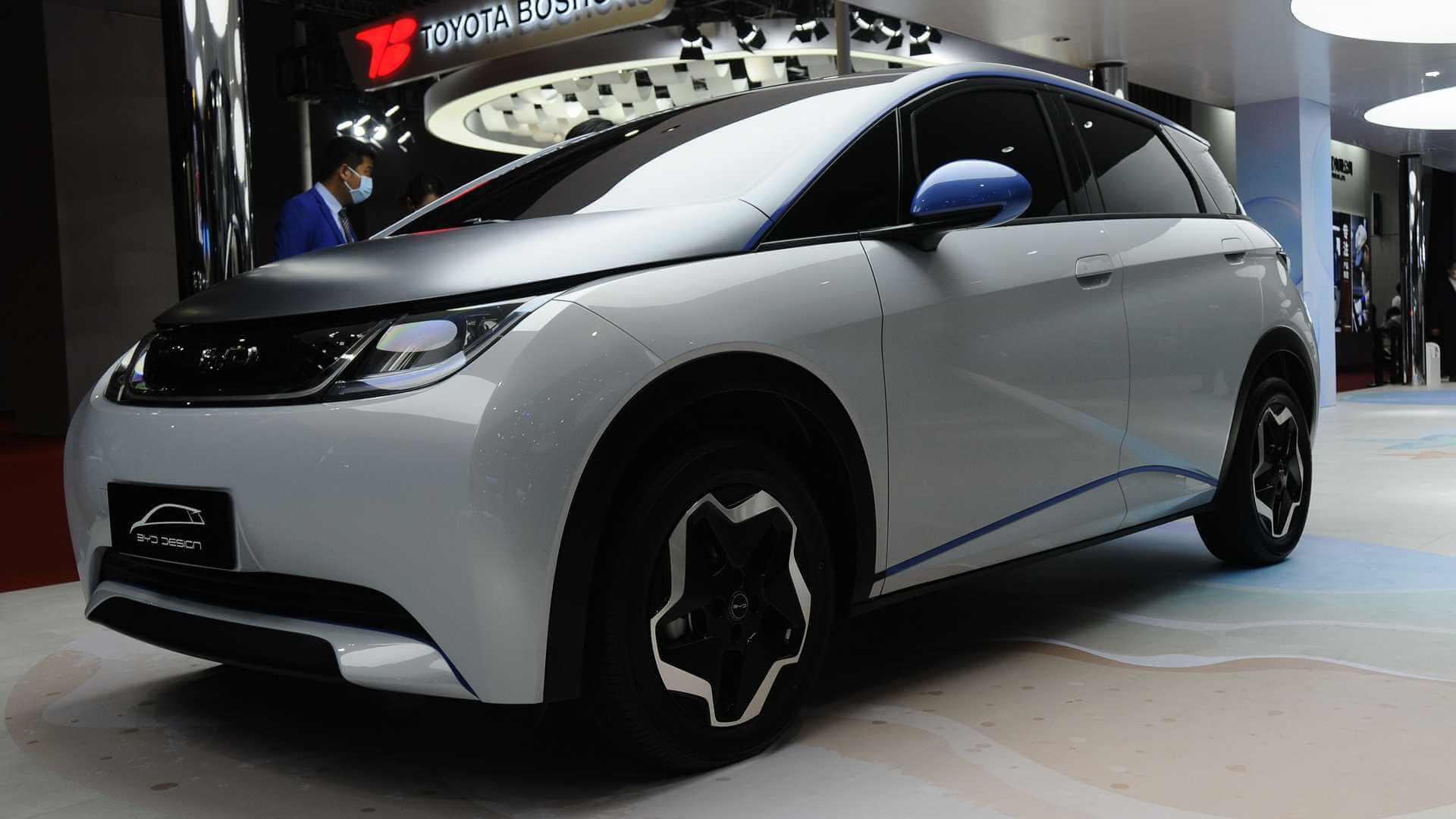 EA1: первый электромобиль BYD на 800-вольтовой платформе«e-Platform 3.0»
