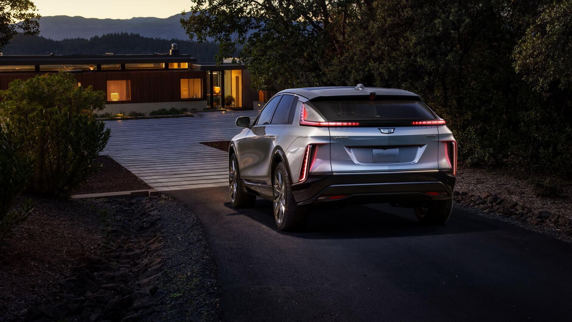 Серийный Cadillac LYRIQ получил запас хода 482км изадний привод