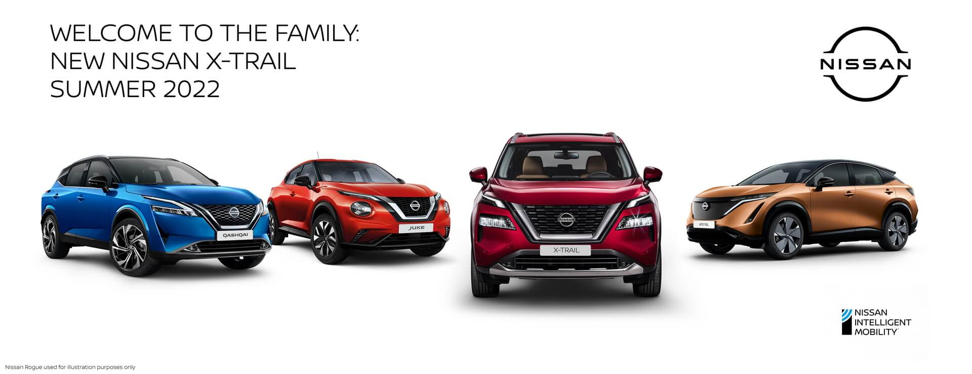 Появление нового Nissan X-TRAIL летом 2022 года завершит масштабное обновление модельного ряда Nissan