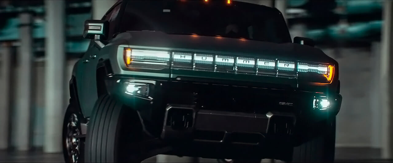 SUV GMC Hummer EV получит «режим краба»