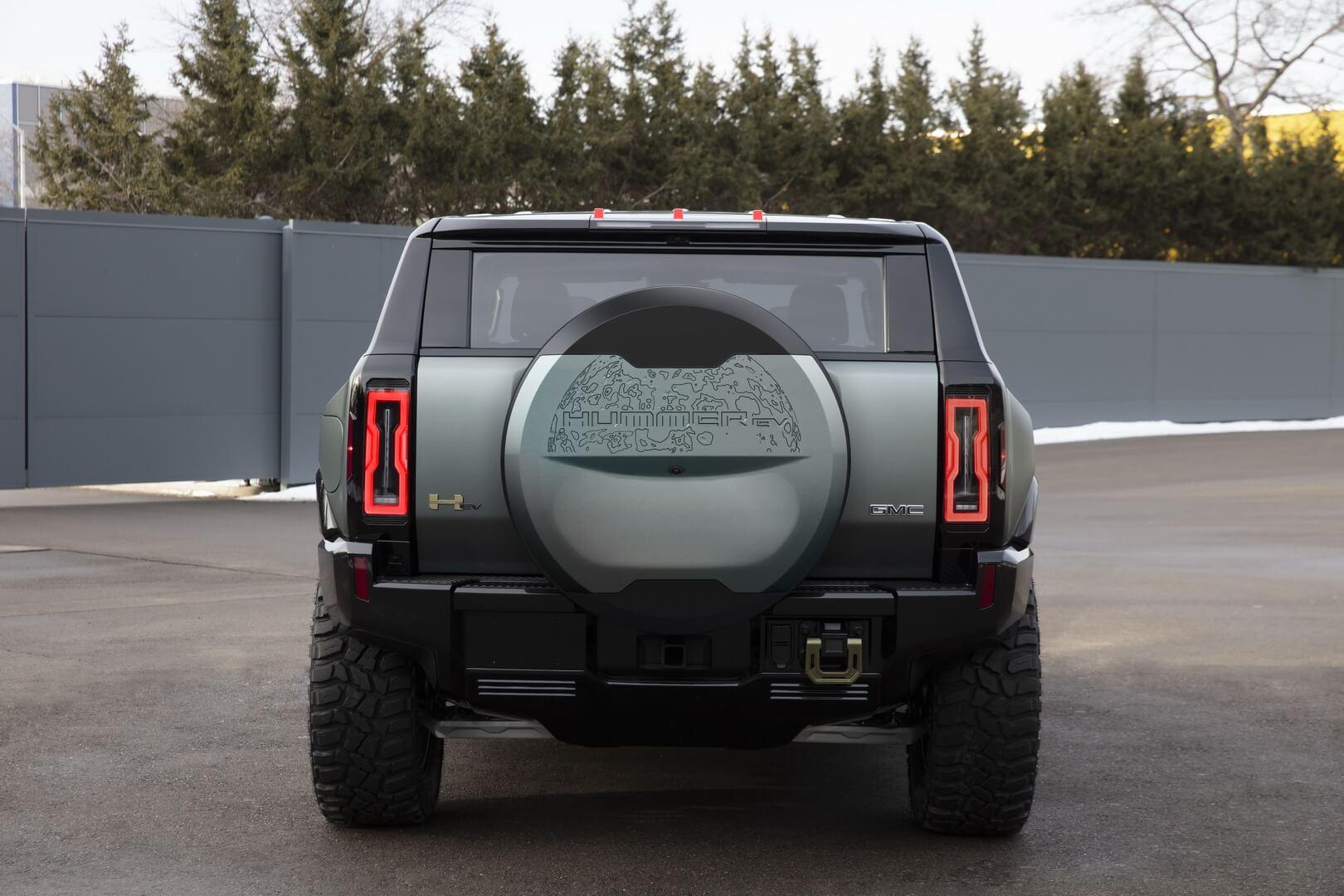 Фотография экоавто Внедорожник GMC Hummer EV Edition 1 с экстремальным внедорожным пакетом - фото 27