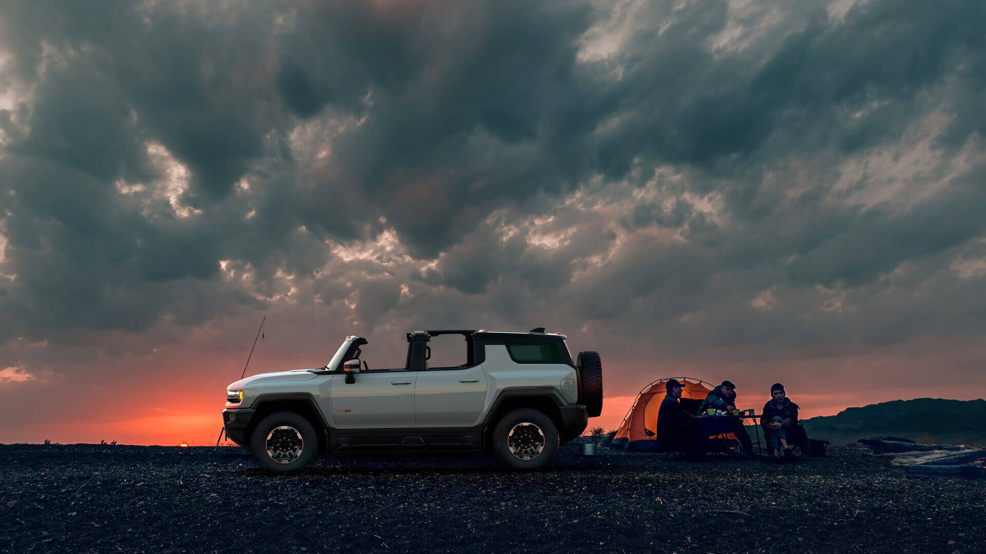 Фотография экоавто Внедорожник GMC Hummer EV Edition 1 с экстремальным внедорожным пакетом - фото 20