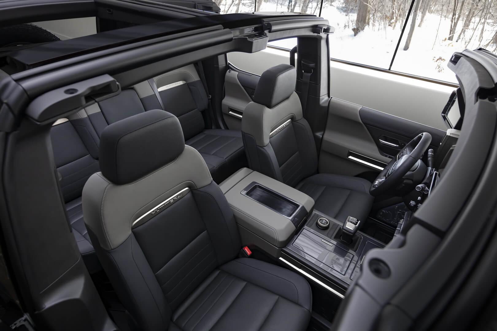 Фотография экоавто Внедорожник GMC Hummer EV Edition 1 с экстремальным внедорожным пакетом - фото 44
