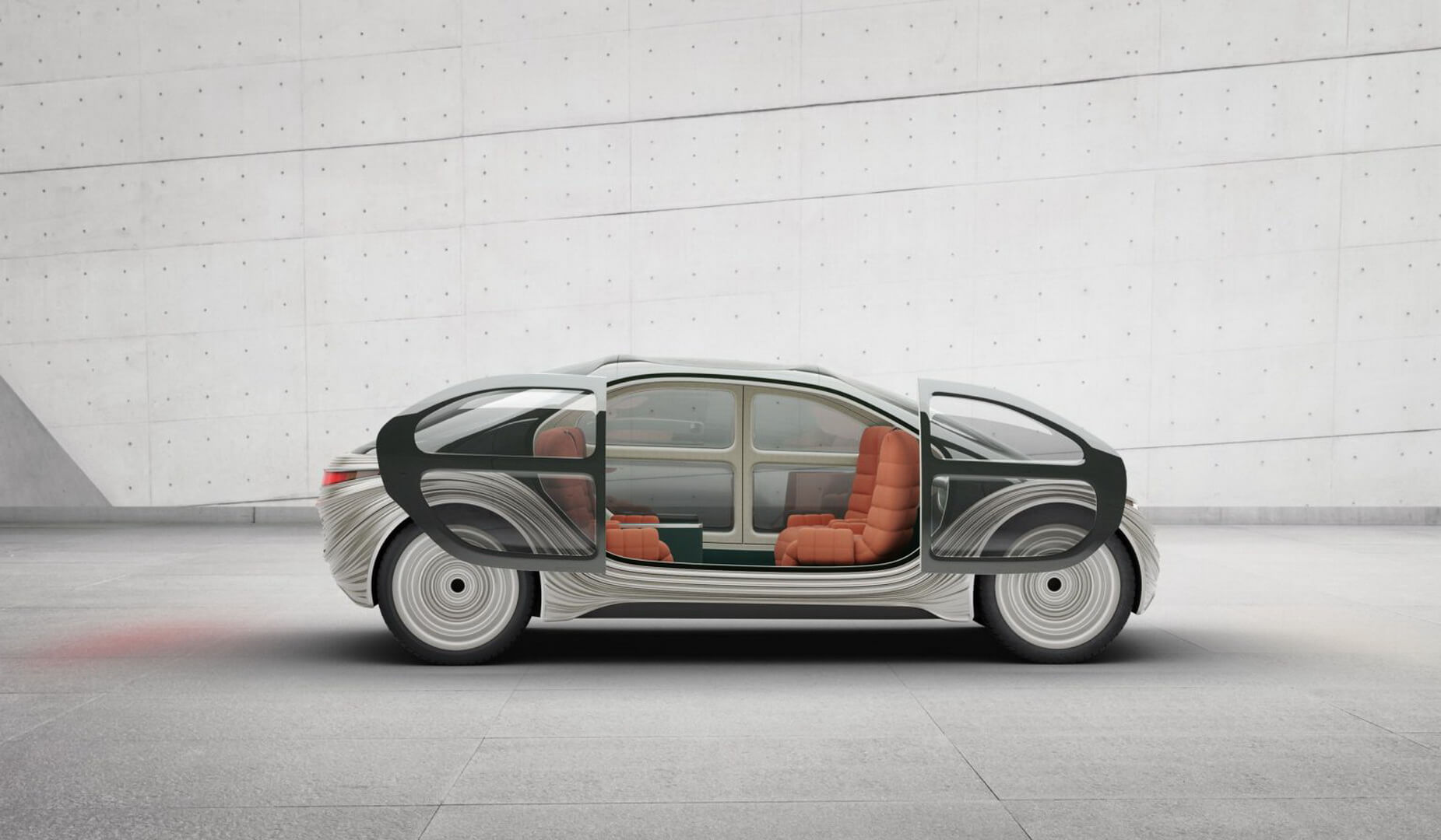 Airo: концептуальный автономный электрокар с «фильтром воздуха»