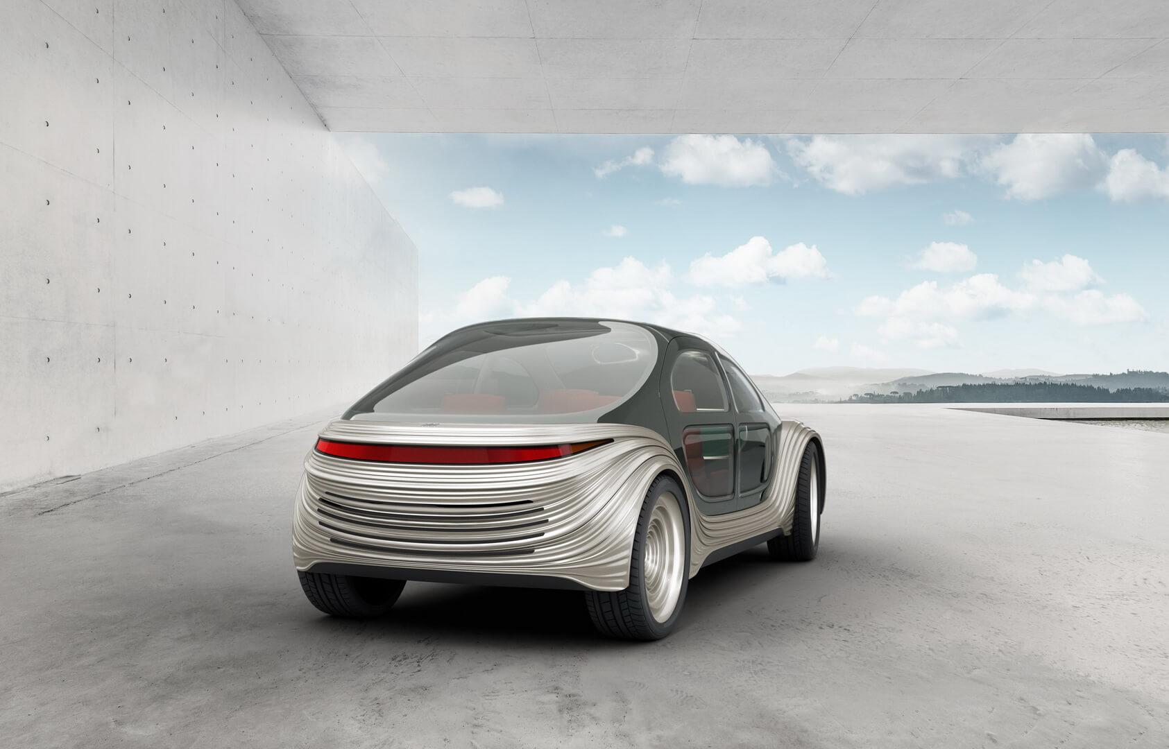 Heatherwick Studio представила автономный многофункциональный электрокар Airo