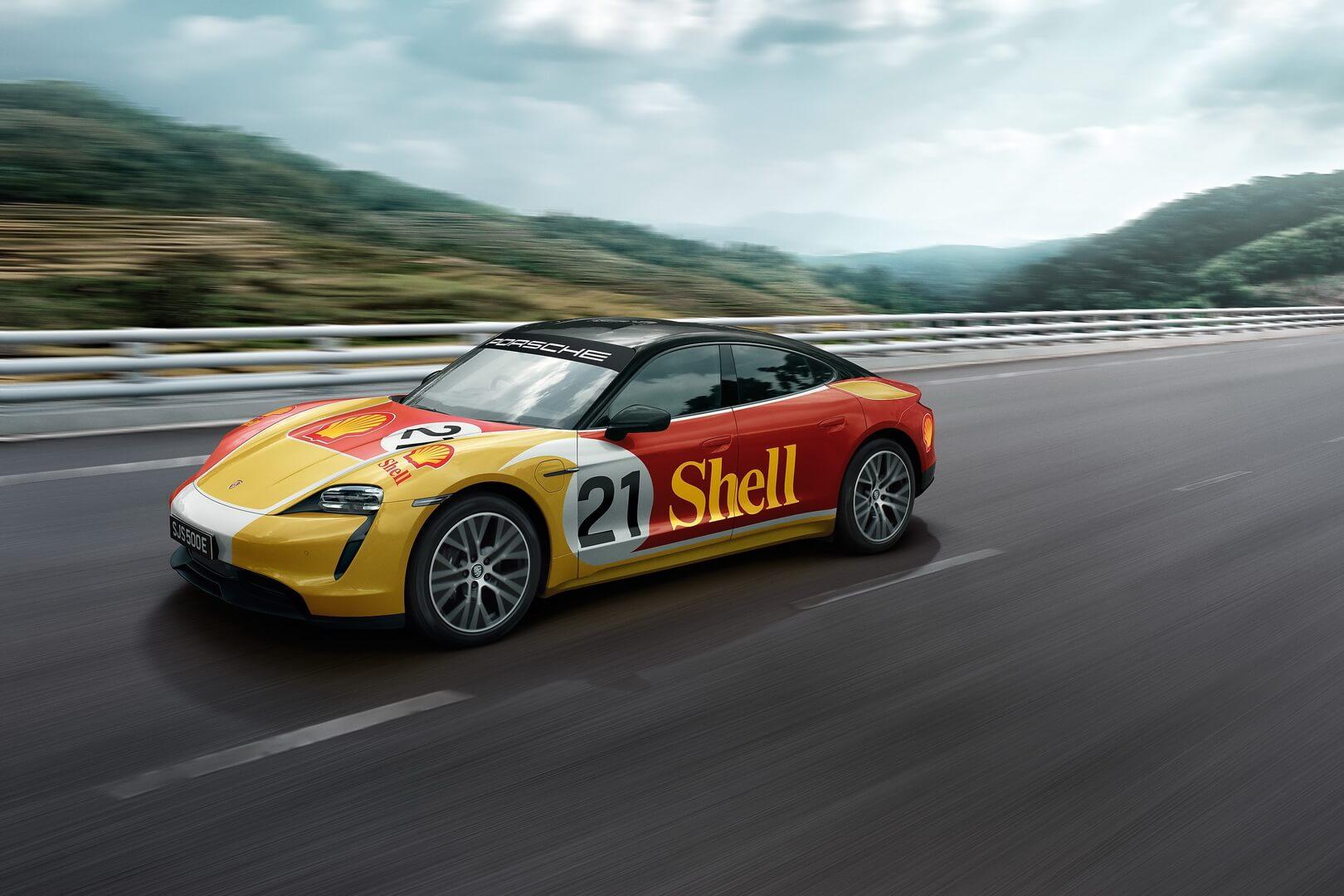 Porsche иShell анонсируют сверхмощную сеть зарядки для электромобилей вЮго-Восточной Азии