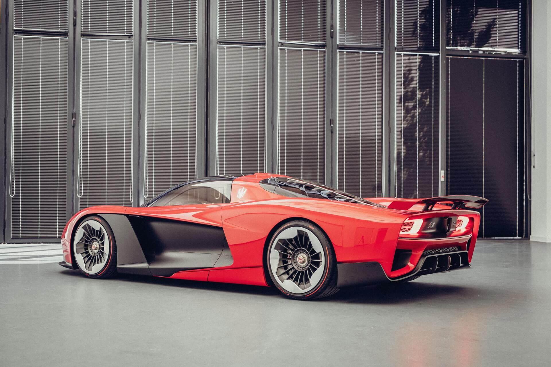 Китайский суперкар Hongqi S9 будут производить на родине Ferrari