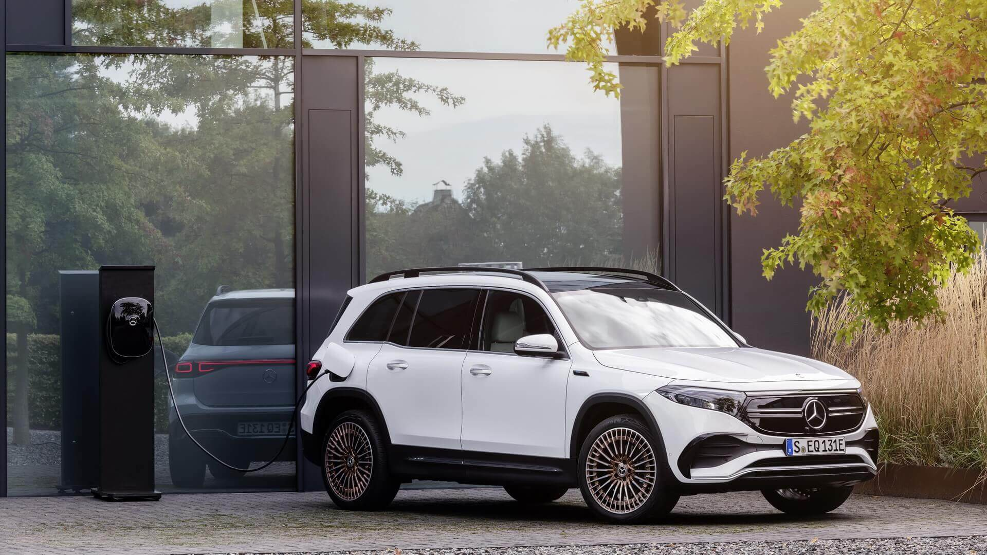 Европейская версия Mercedes-Benz EQB будет запущена в 2021 году