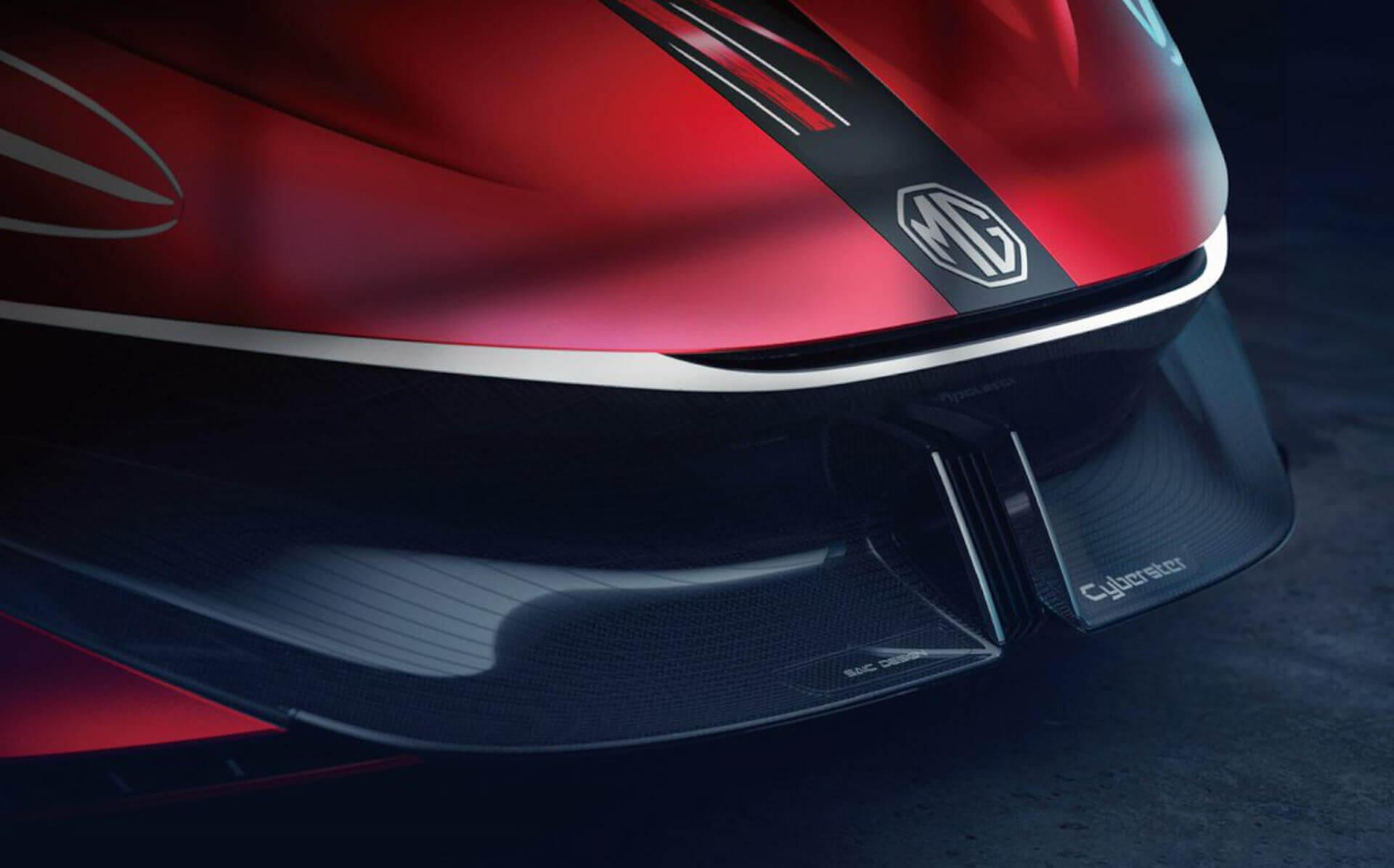 MG представил концепт спорткара Cyberster перед премьерой в Шанхае