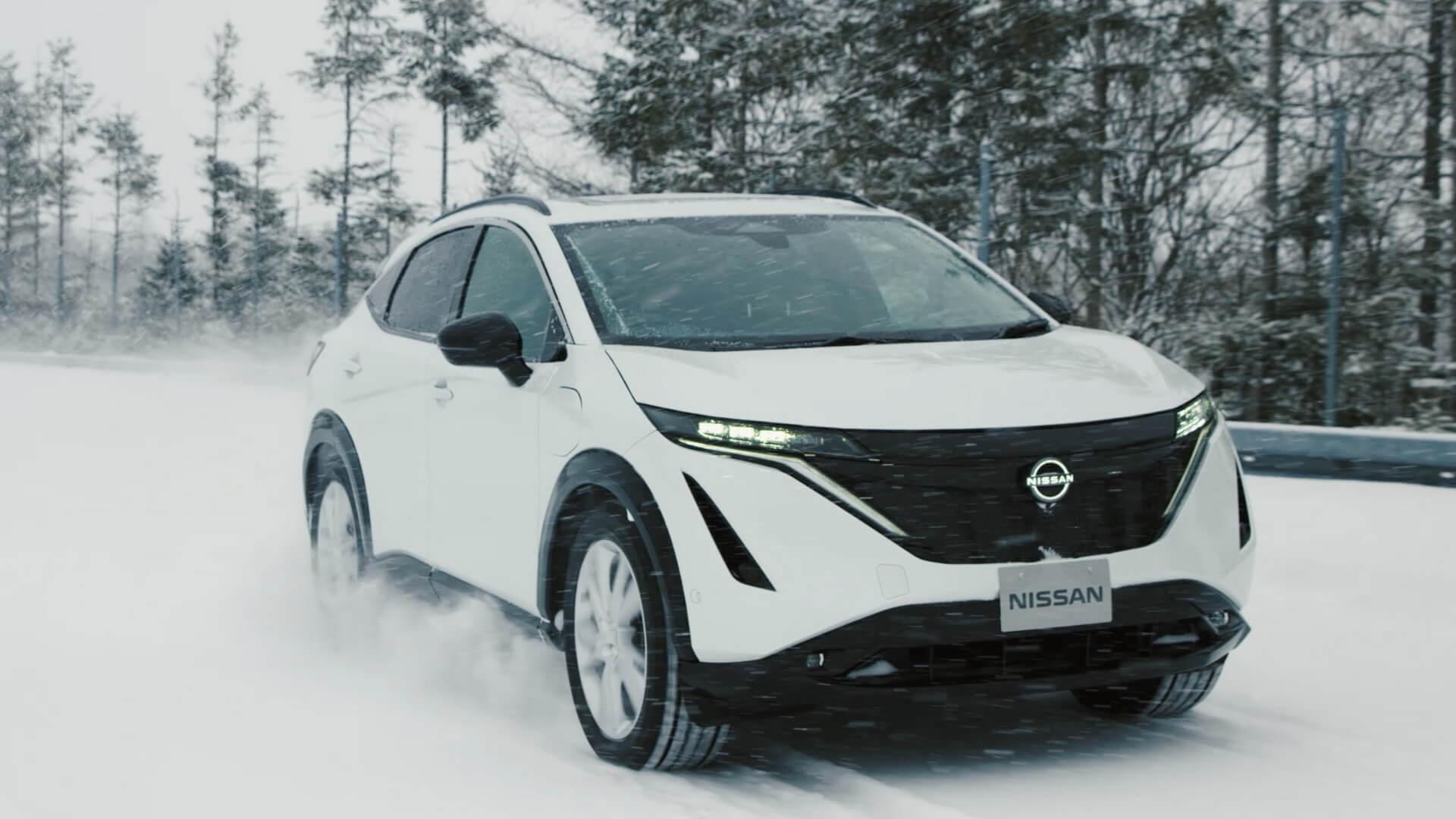 Nissan Ariya успешно прошел серию серьезных испытаний, в результате которых автомобиль обладает сбалансированной управляемостью