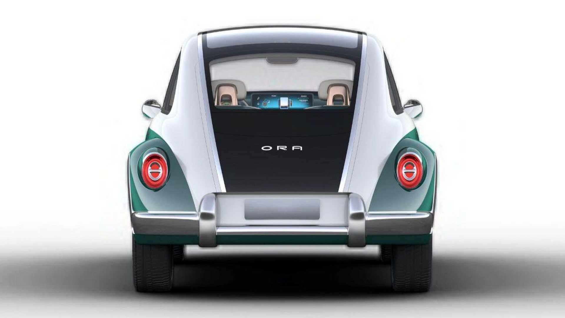 Ora Punk Cat: электрическая китайская копия автомобильной классики VW Beetle
