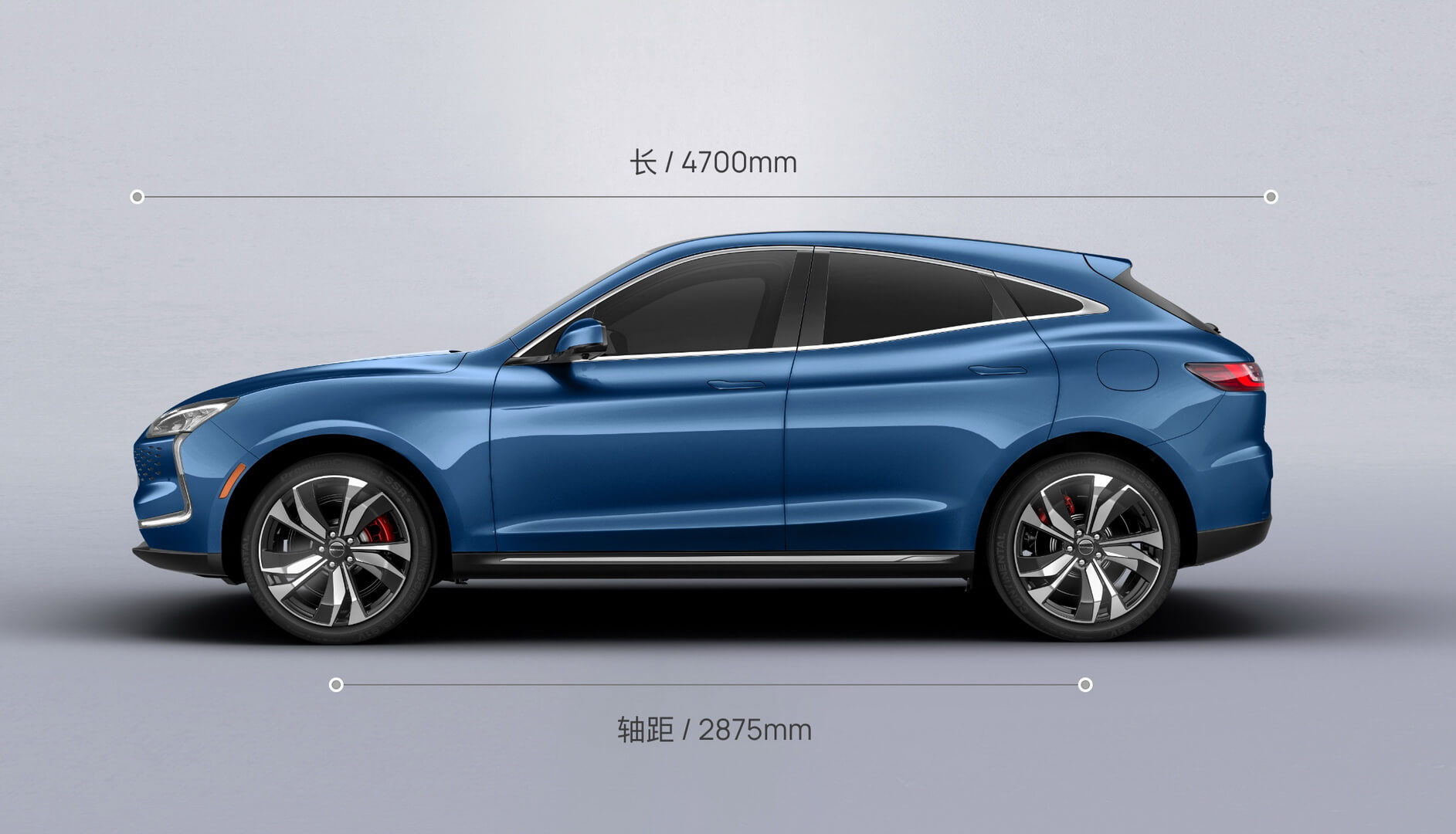 Длина кроссовера Seres Huawei Smart Selection SF5