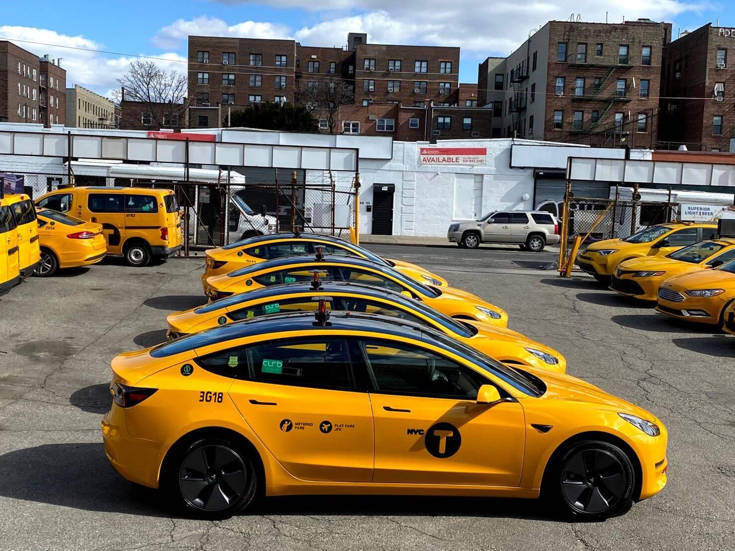 Model 3 превращается в самый популярный автомобиль такси в США