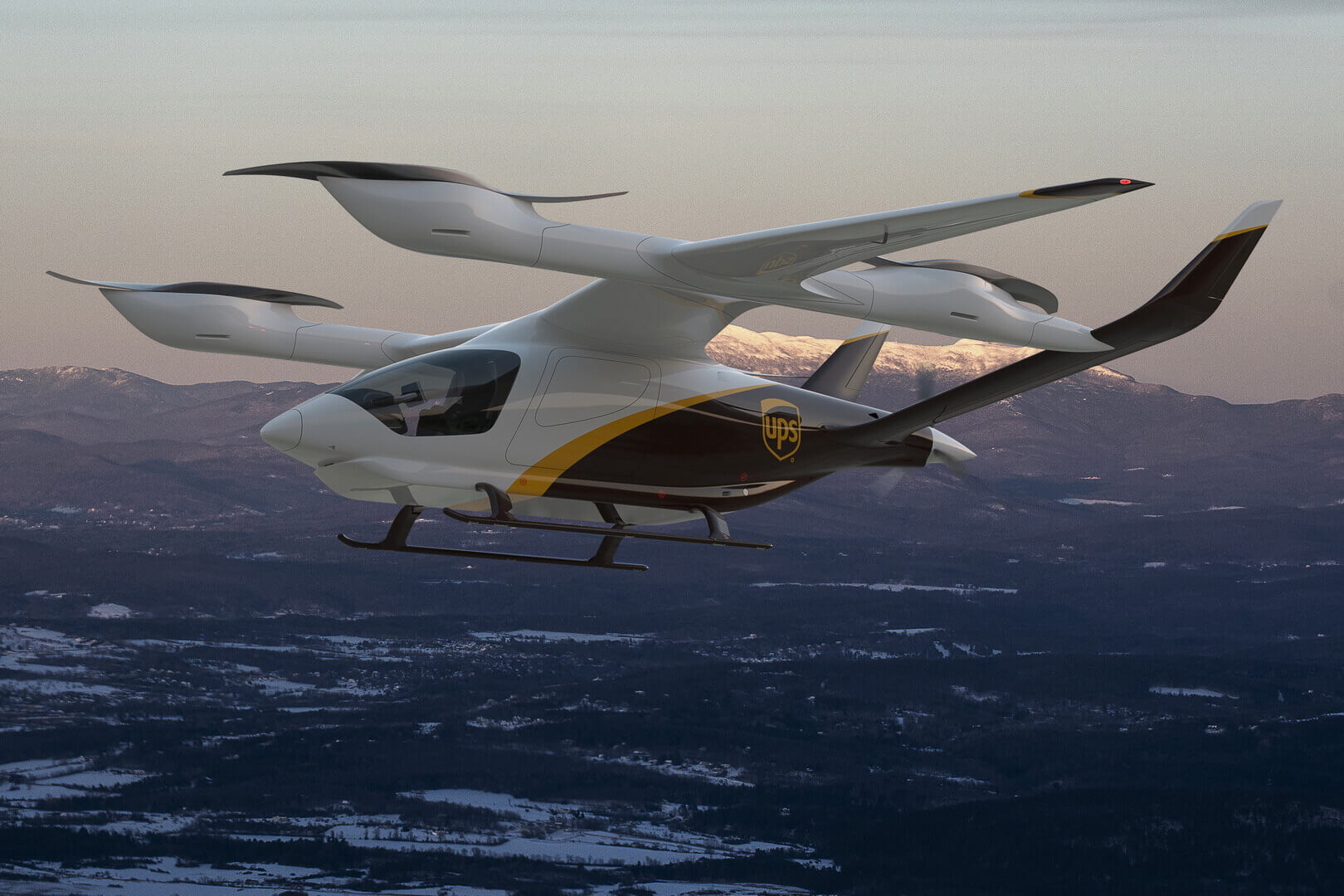 Электрический самолет BETA eVTOL