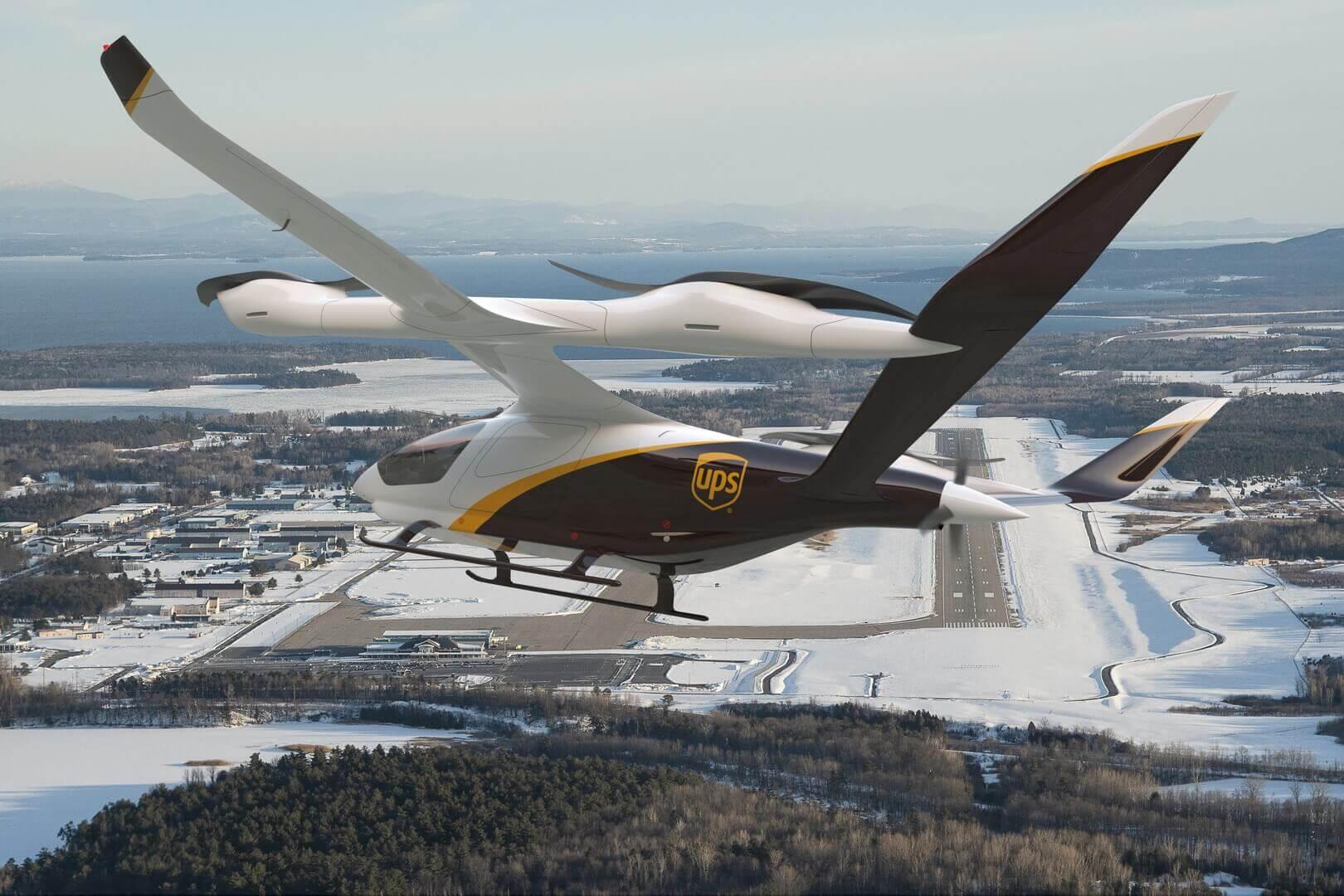Электрический самолет с вертикальным взлетом и посадкой (eVTOL) Beta Technologies