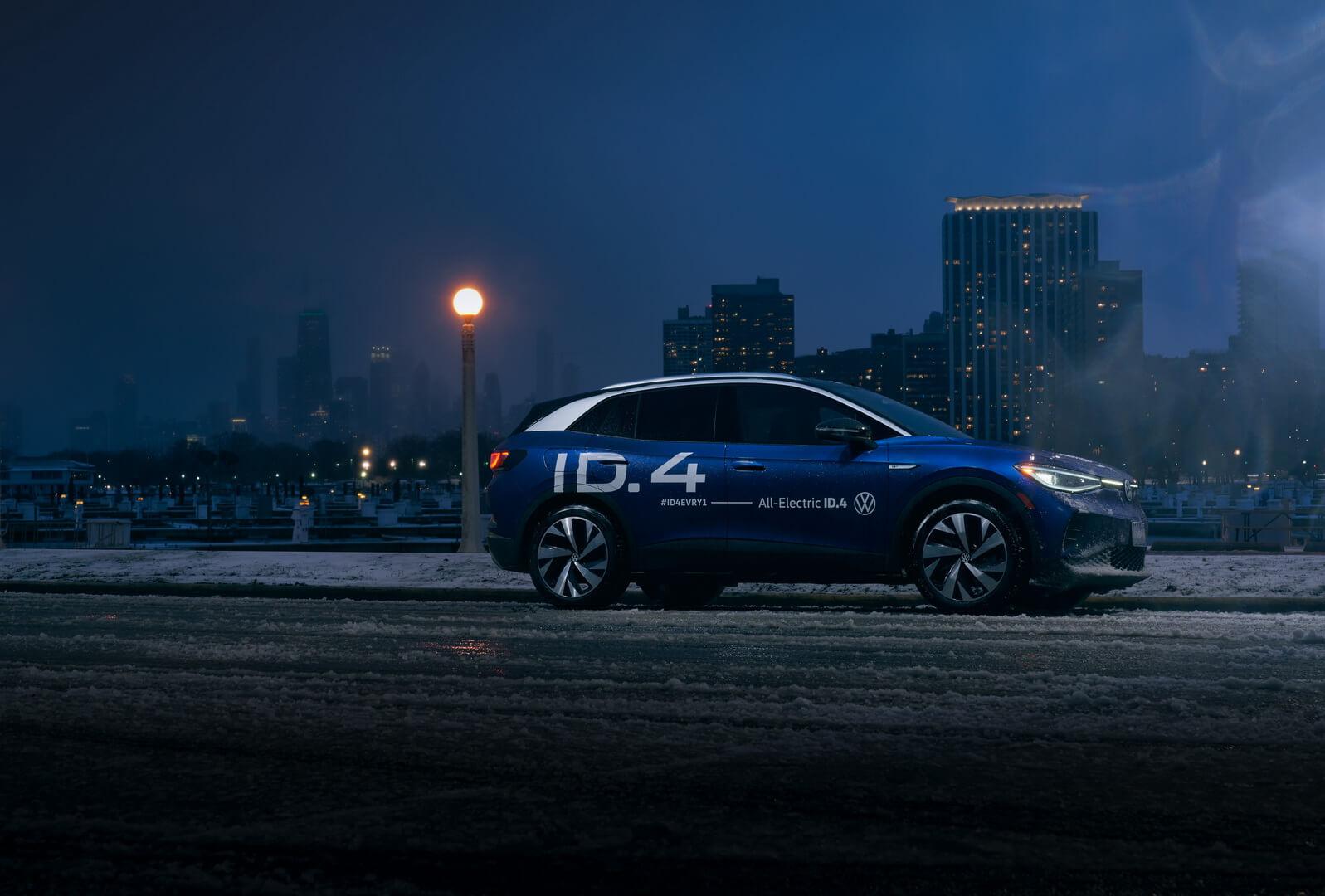 Электрический кроссовер Volkswagen ID.4 завершил поездку по пересеченной местности на 6700 миль в США
