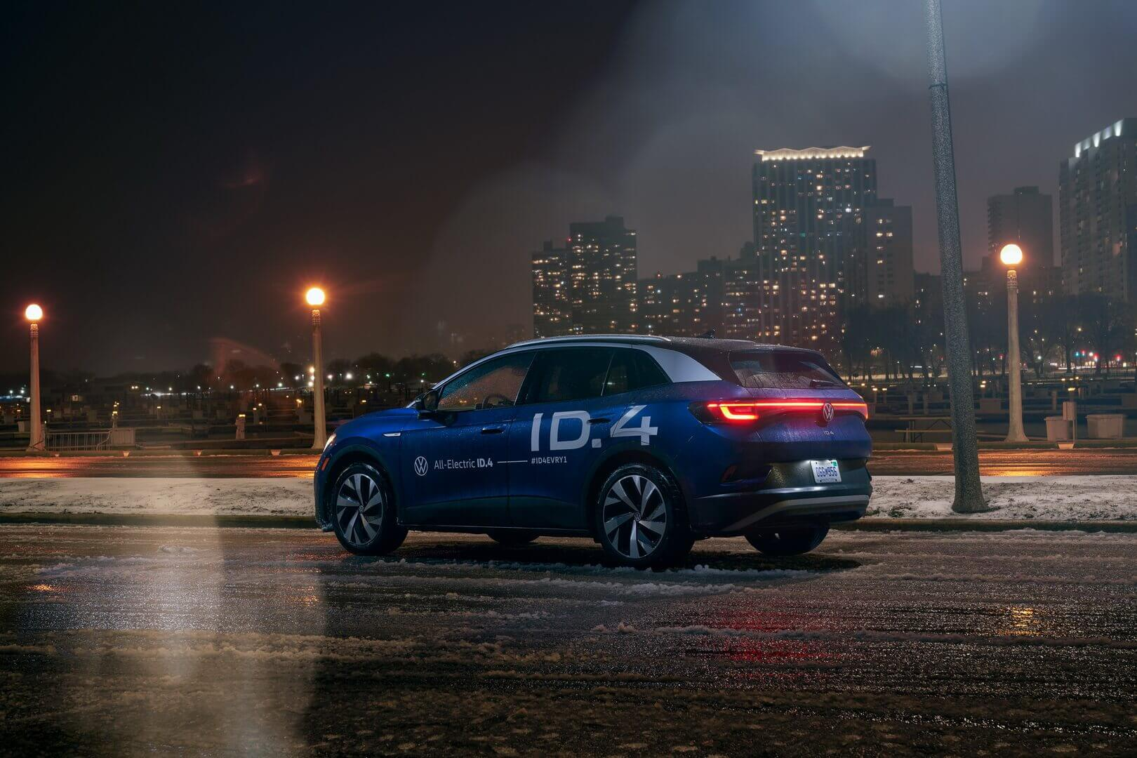 VW ID.4 проехал 10780 км от побережья к побережью в США за 18 дней
