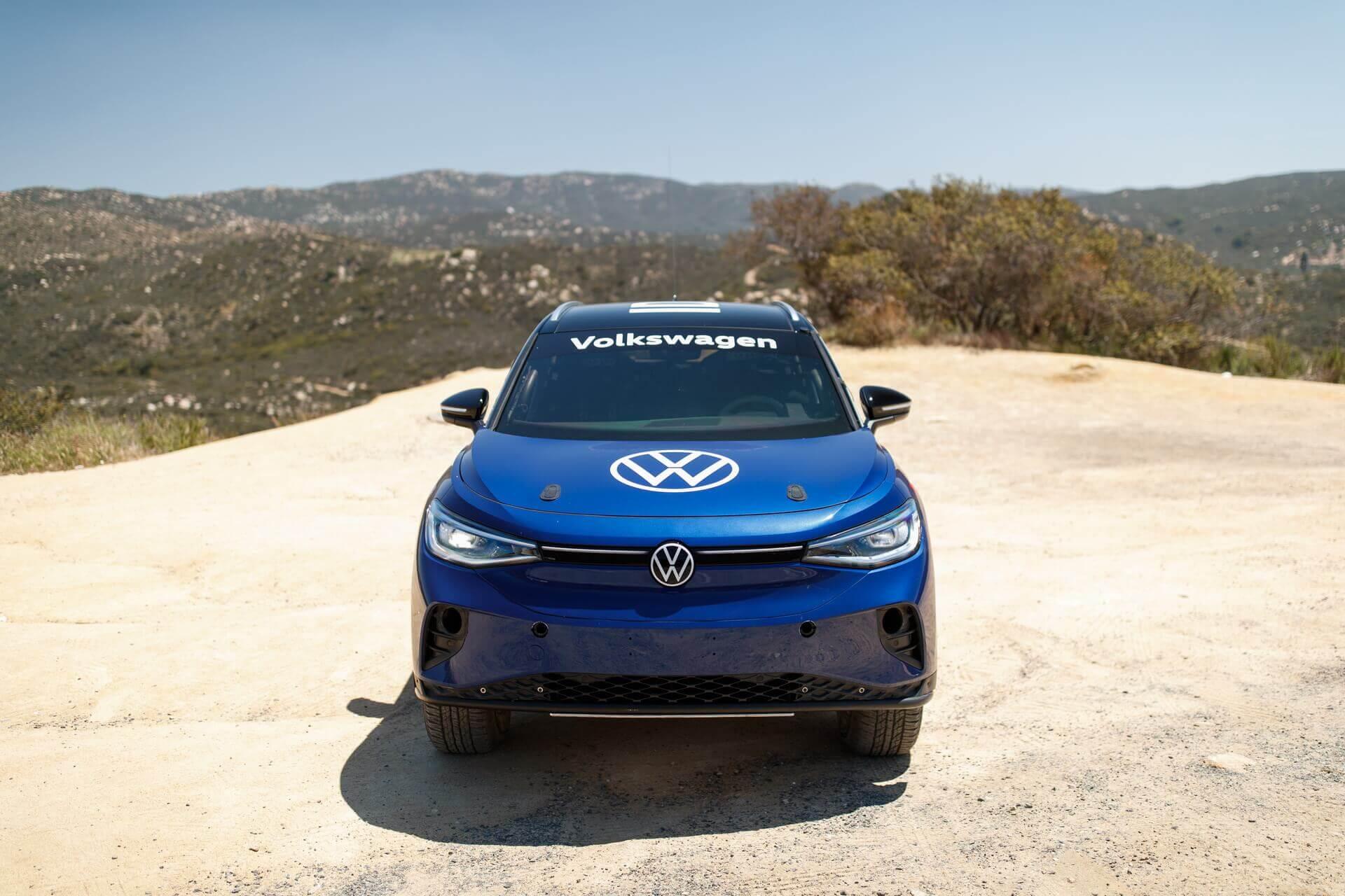 Volkswagen модифицировал ID.4 для участия в гонке NORRA Mexican 1000