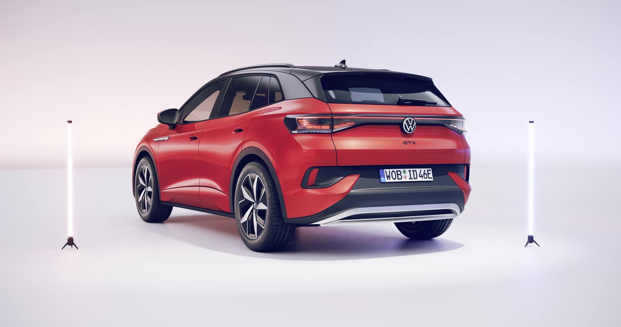 Двухмоторная полноприводная версия электрического кроссовера VW ID.4